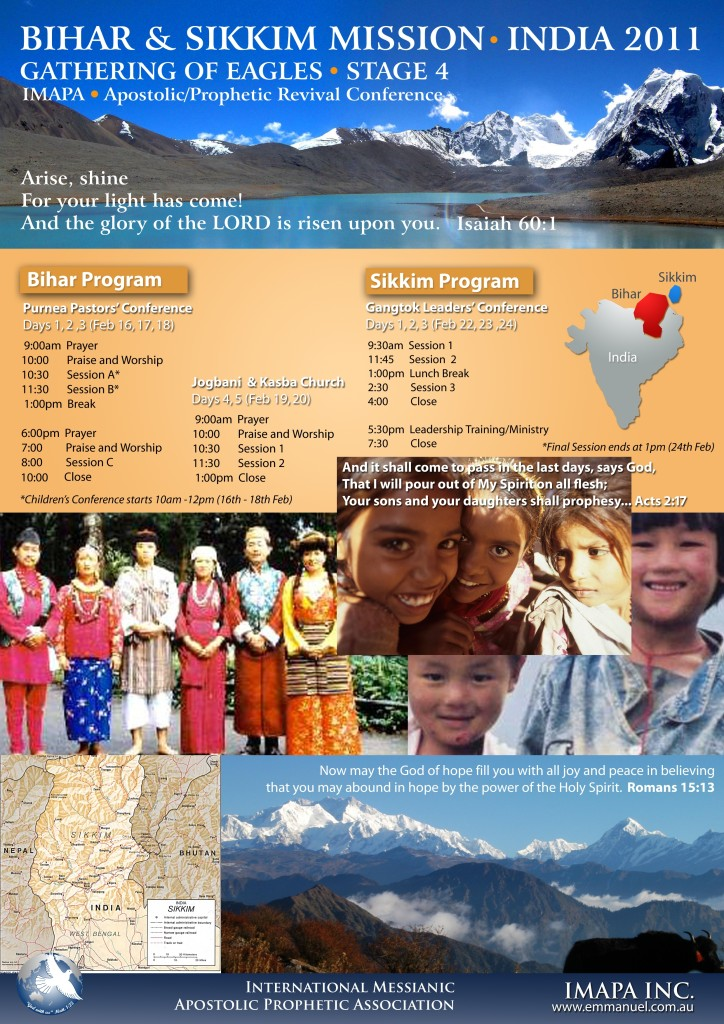 Bihar & Sikkim Mission 2011